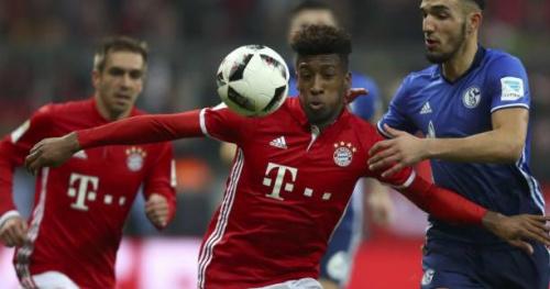 Foot - ALL - Bayern - Kingsley Coman titulaire avec le Bayern à Leverkusen, Franck Ribéry au repos