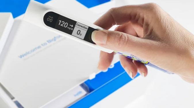 Bigfoot Unity smart cap for insulin pens