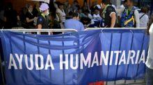 Hospitales de campaña aceitan maquinaria para ayuda humanitaria en Venezuela