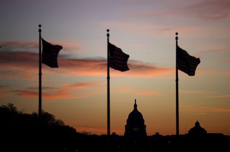 Balance of power little changed, U.S. Congress faces new fight on budget, coronavirus