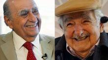 Vidas paralelas de dos expresidentes: Sanguinetti y Pepe Mujica se jubilan