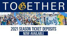 2021 Season Ticket Membership Deposits now available
