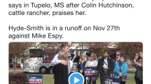 Miss. senator jokes about sitting 'front row' if invited to 'public hanging' — but Twitter is unamused