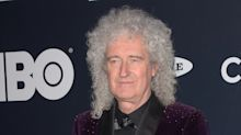 Brian May goes to hospital after ripping buttock muscle 'to shreds' while gardening