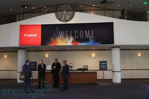 The Canon Hollywood event liveblog!