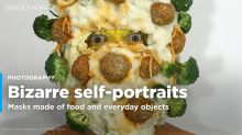 PHOTOS: Bizarre self-portraits
