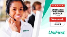UniFirst Named to Newsweek's 2020 List of America's Best Customer Service Providers