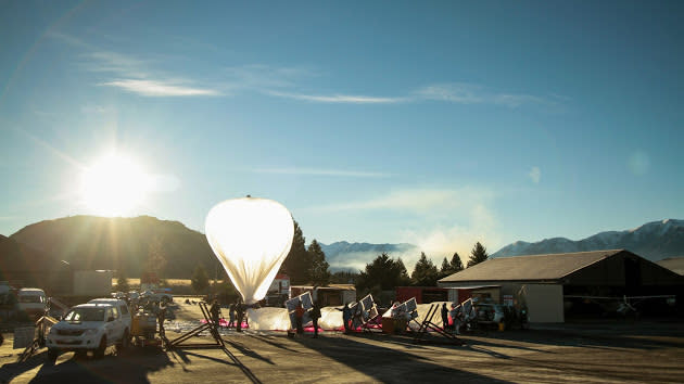 Google grabs its first carrier partner for Project Loon tests in Australia