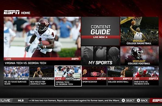 WatchESPN lands on Xbox Live with split screen viewing and more