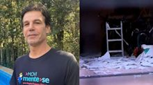 "Casa de personal Marcio Atalla sofre explosão: ""Ficou toda destruída"""