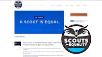 Boy Scout president wants to get rid of ban on gay leaders