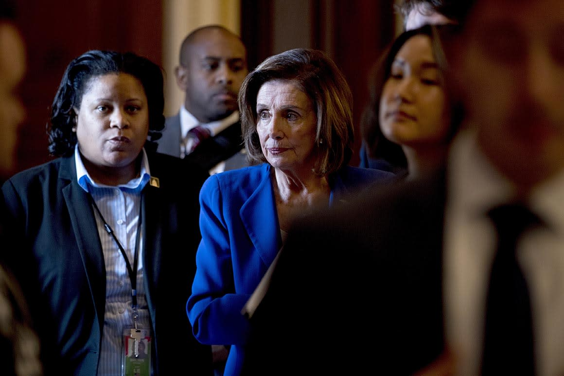 Pelosi looks to seize Trump's bully pulpit