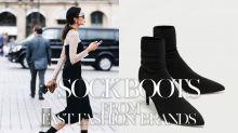 今季一定要有一雙大熱 Sock Boots:嫌 Vetements 或 Balenciaga 太貴,你還有這些平價版的選擇!