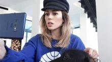 El pelo arcoíris de Blanca Suárez tiene truco (tecnológico)