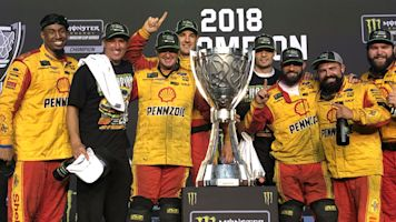 For Logano's crew, championship extra sweet
