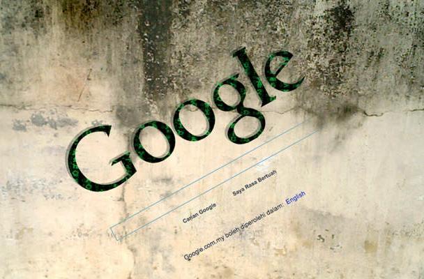 Hackers take down Google's Malaysian homepage