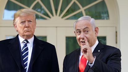 Israeli PM indicted while in D.C. for Trump meetings