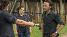 Which Walking Dead stars had the most screentime in 7A?