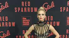 El seductor look de Jennifer Lawrence