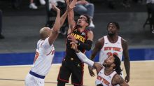 Hawks G Trae Young ruled out vs. Knicks after painful ankle injury