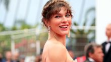 Milla Jovovich shares breastfeeding during lockdown photo: 'So grateful for these quiet moments'