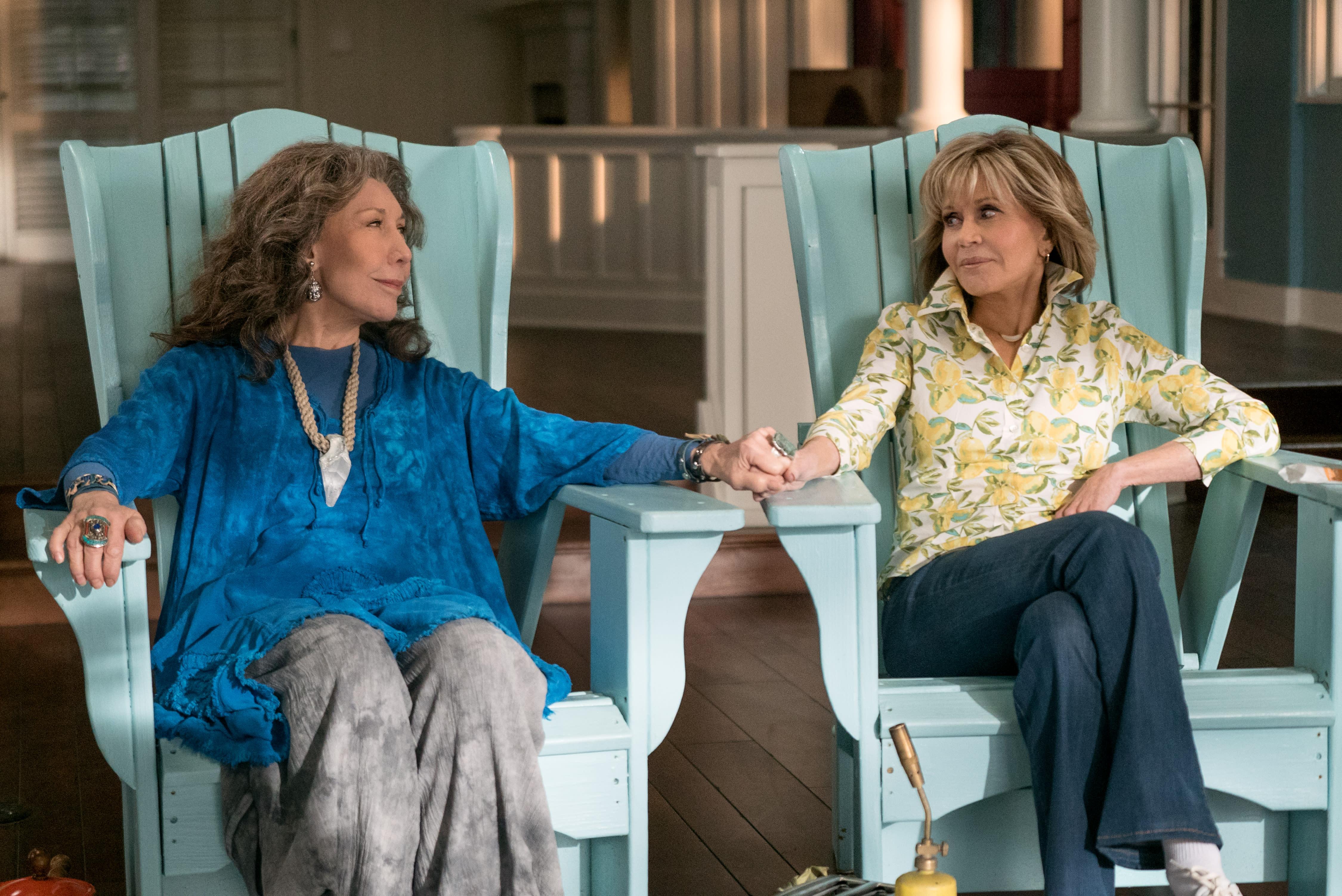 'Grace And Frankie' Season 5 Trailer: Jane Fonda, Lily ...