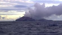 Rescue crews touch down to recover remaining volcano victims