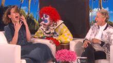 Sarah Paulson gets 3 terrifying scares on 'Ellen'
