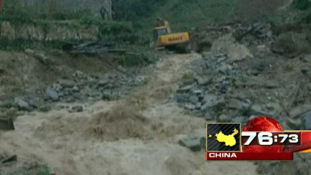 Around the World: Landslide kills 5 students in China
