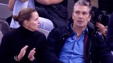 AFL legend's brutal public scolding from wife caught on camera