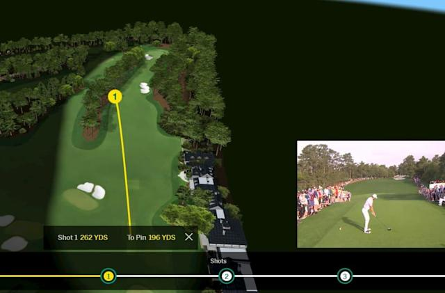 Every shot from the Masters will be posted online within five minutes