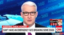Anderson Cooper Questions Just How Urgent Trump's National Emergency Is