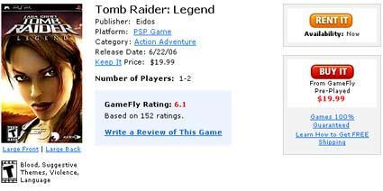 Deal of the Day: Tomb Raider Legend for $20
