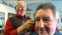 Brooklyn Park Barber Steps Away From His Scissors After 50 Years