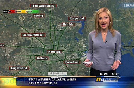 Houston newscaster dictates slide transitions, goes bowling with Wiimote