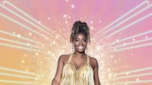 Strictly contestants get the glitter treatment