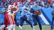 Frank Clark tempts fate, smack talks Derrick Henry: 'I don't see no difficulty in tackling him'