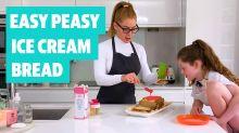 Easy Peasy: How to make ice cream bread