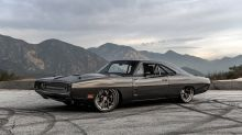 Jay Leno drives the Demon-powered SpeedKore carbon fiber Dodge Charger