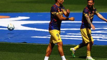 Foot - Transferts - Transferts:Luis Suarez (Barça) vers l'Atlético de Madrid, qui pourrait prêter Alvaro Morata à la Juventus