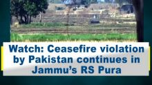 Watch: Ceasefire violation by Pakistan continues in Jammu's RS Pura