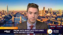 Probe into Barclays CEO links with Jeffrey Epstein