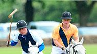 WOWtv - Prince Harry Competes Against His Brother William at Charity Polo Match