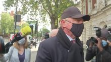 Boris Becker arrives at Westminster Magistrates' Court