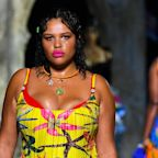 Versace sent 3 plus-size models down runway for 1st time at Milan Fashion Week