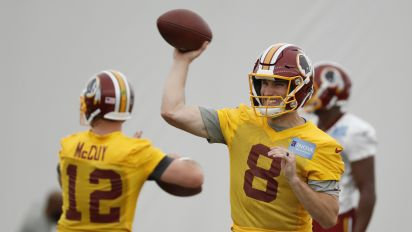 Two-a-days: Redskins won't lack drama at camp