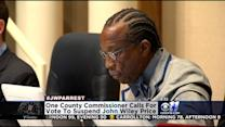 John Wiley Price Not Likely To Be Suspended