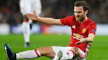 More injury woe for Manchester United as Mata has groin operation