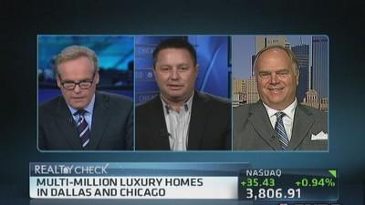 A peak at luxury homes in Dallas & Chicago