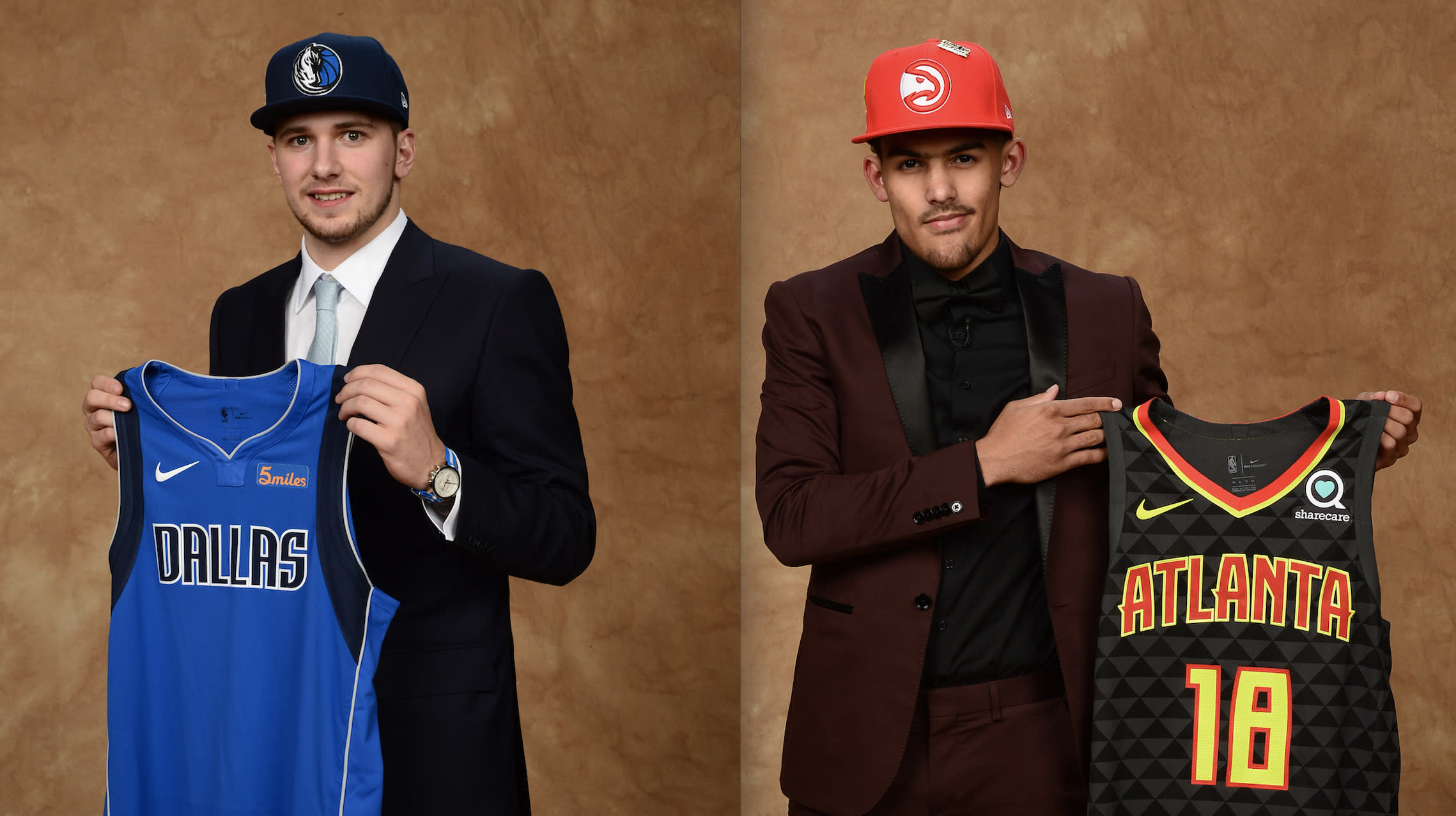 designer fashion c694e 2f740 NBA draft: Luka Doncic, Trae Young now linked forever